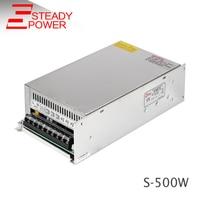 500W 600W 12V 50A 24V 25A 48V Single Output Power Supply 220V 12V Transformator