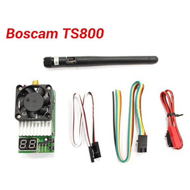 Original Boscam TS800 FPV 5.8G 32CH 1500mwAV Wireless Transmitter TS800 TX Module Support AAT Tracking Antenna 1500mw aat convert module for other brand osd the newest skylark automatic aerial conversion antenna tracking cooperate with use new