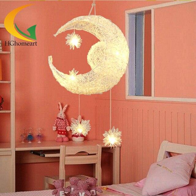 Modern cartoon cute kids LED pendant lighting children room Pendant Lamps girl Bedroom study kids home lighting E27