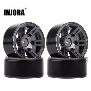 Image 3 - 4PCS Metal Wheel Rim 1.9 Inch BEADLOCK for 1/10 RC Rock Crawler Axial SCX10 90046 AXI03007 TAMIYA CC01 D90 TF2 Traxxas TRX 4