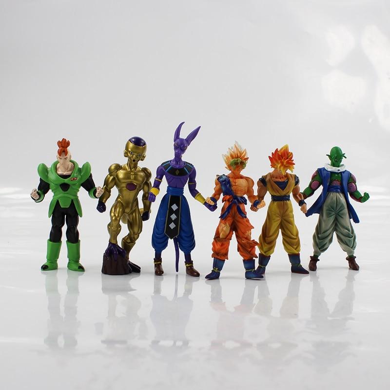 Model-Collection Piccolo 14cm Beerus Action-Figure Dragon-Ball-Z Anime Super-Saiyan PVC