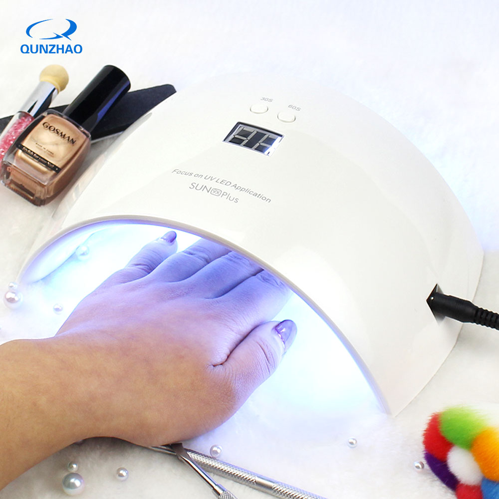 SUNUV SUN9X PLUS LED Lamp For Nails And Gel Polishing Lamp Dryer Fast Curing Gel Varnish With Timing Device Automatic Sensing