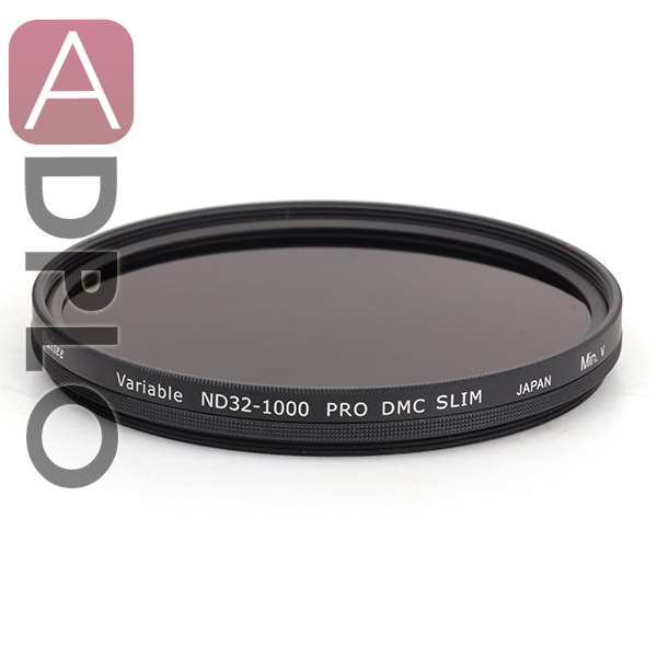 Daisee 82 MM VARIABLE ND 32-1000 PRO DMC SLIM Filter / camera lens filter / 26+8- layer DMC coating  Brass ring