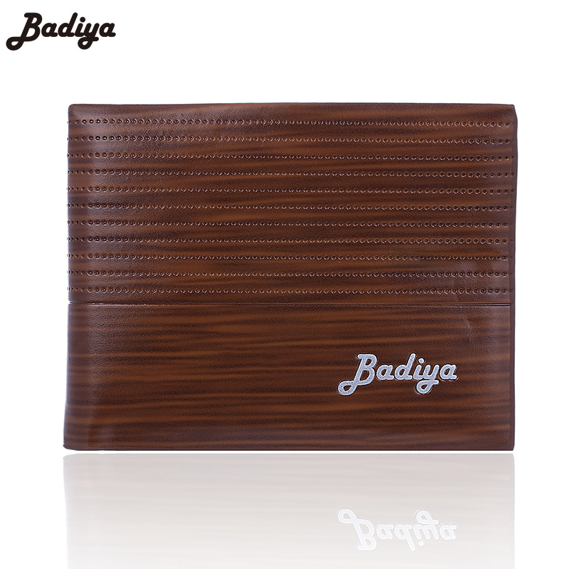 New Arrival Fashion Casual Pu Leather Men Wallets Quality Black Coffee Colors Credit Card holder Purse Wallet For Man bovis 5102 02 casual man s pu credit name card wallet slots coffee