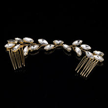 TUANMING 1PCS 2017 Hair Jewelry Bridal Hair Accessories Tiara Head Piece Fashion Hair Pins Wholesale Tiaras