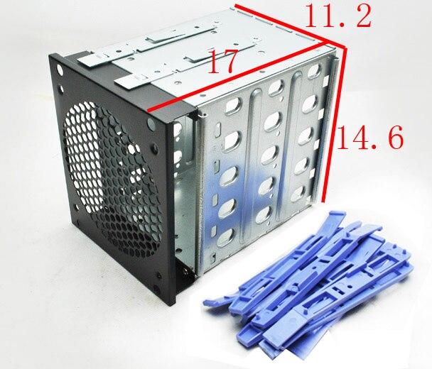 Boîte de protection SSD en plastique et en acier à 5 baies Pour - Stockage externe - Photo 2