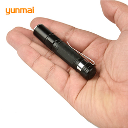2019 Mini LED Taschenlampe ZOOM 7 W NEUE Q5 2000LM Wasserdicht Lanterna LED Zoomable Taschenlampe AAA Batterie Leistungsstarke Led Für jagd