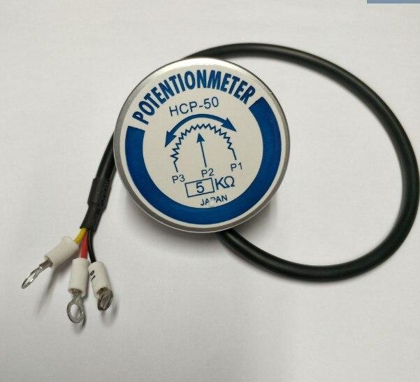original Precision potentiometer HCP-50 5K 360 poleless sensor degree rotation high life long switchoriginal Precision potentiometer HCP-50 5K 360 poleless sensor degree rotation high life long switch