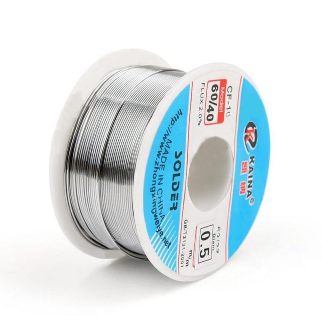 Good Solderability Solder Wire Sn 60/Pb 40 0.5mm 100g Mayitr Rosin ...