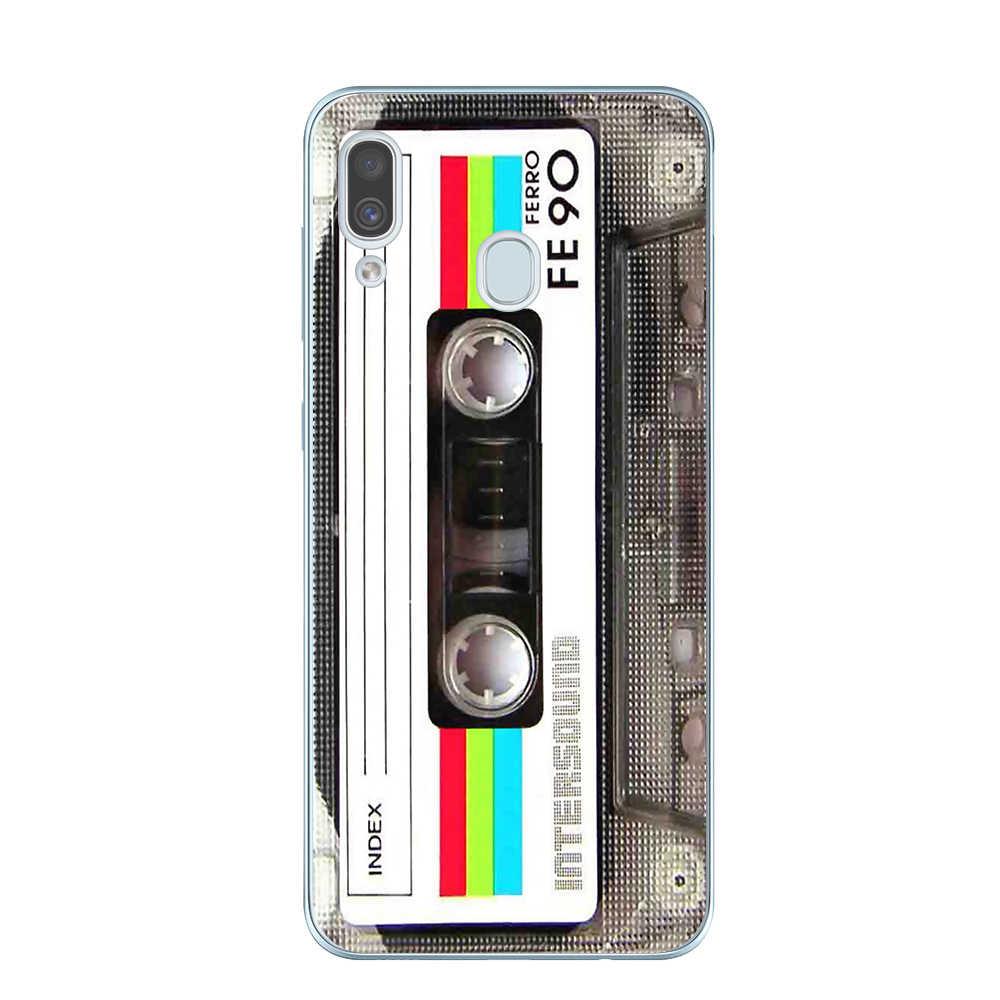 Fita do vintage câmera gameboy caso de telefone para coque samsung galaxy a10 a20 a30 a40 a50 a60 a70 a80 2019 a7 a9 2018 tpu macio capa