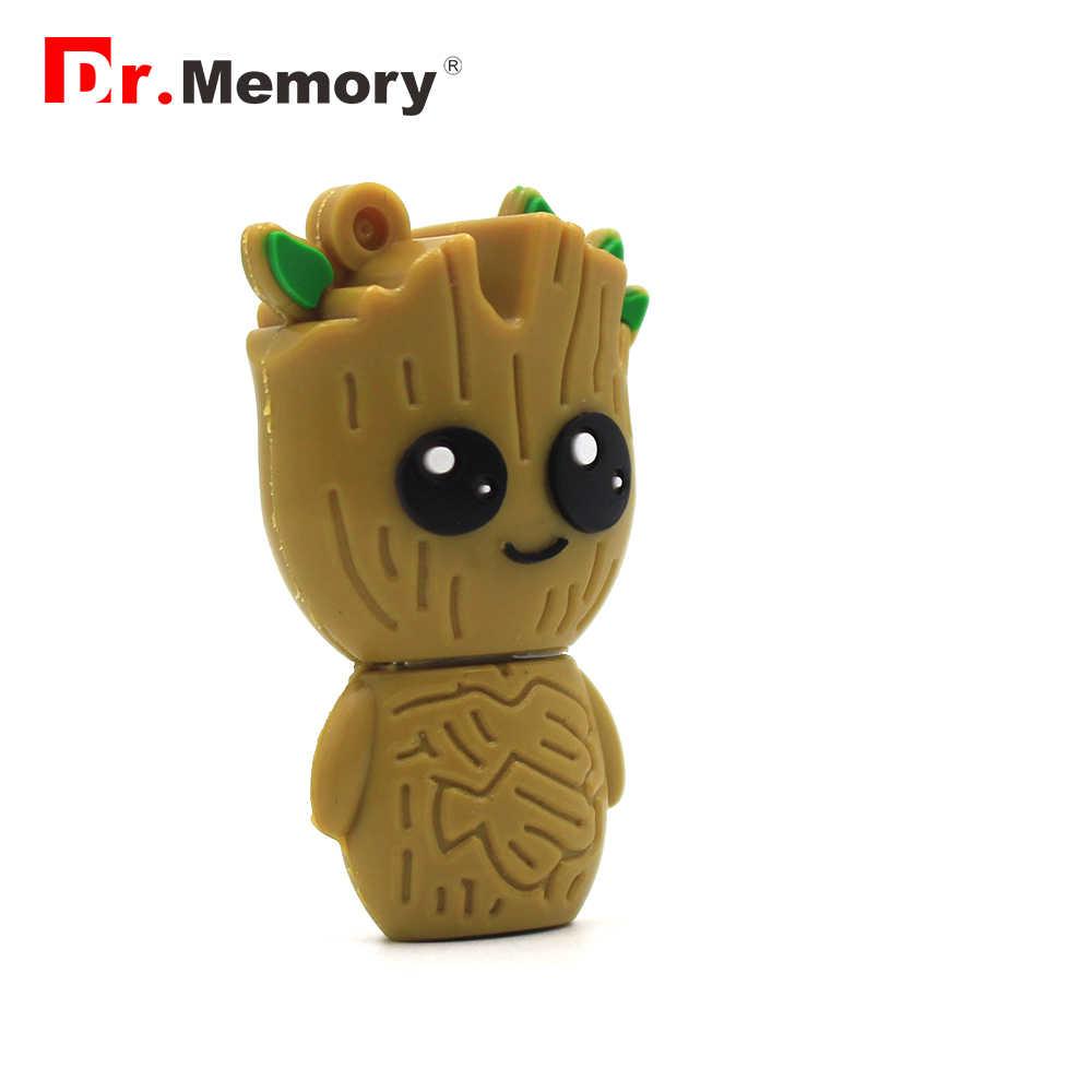 Śmieszne drzewo obcych USB flash dyski 32GB Pendrive 64GB spersonalizowane kreatywny 16GB pamięć Pendrive Flashdisk śliczny prezent