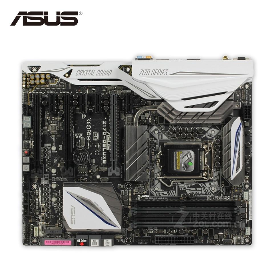 Asus Z170-DELUXE Original New Desktop Motherboard Z170 Socket LGA 1151 i7 i5 i3 DDR4 64G SATA3 USB3.0 ATX