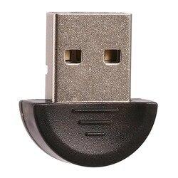 Mini Adapter USB Bluetooth bezprzewodowy klucz USB V2.0 do laptopa PC Win 7/8/10/XP