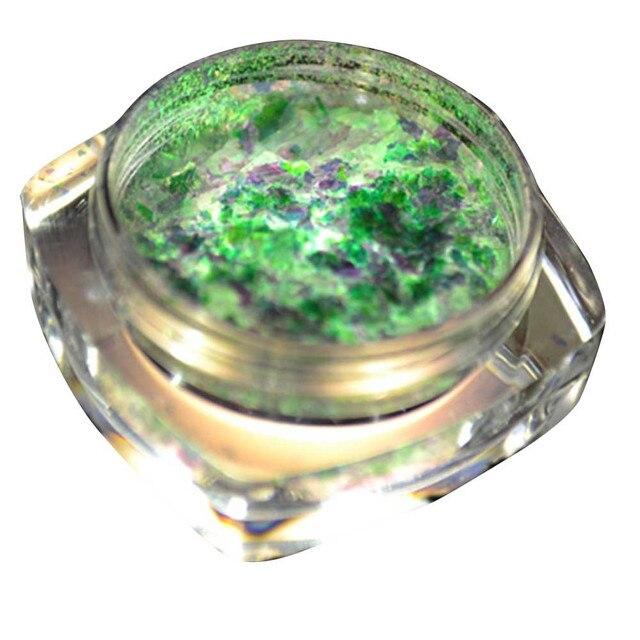 Glitter Escamas de Aluminio Espejo Mágico Efecto Polvos de Uñas ...