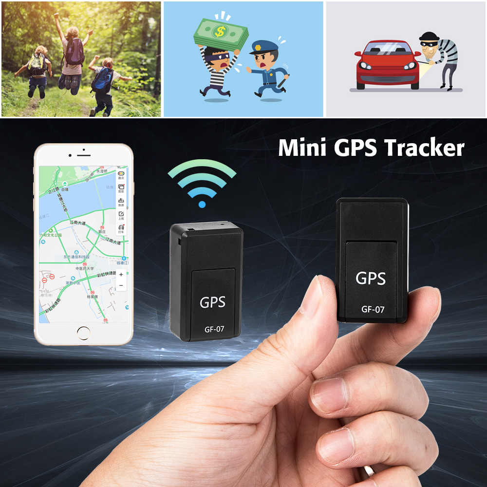 Mini GF-07 GPS Permanent Magnetic SOS Tracking Devices For Vehicle Car Child Location Trackers Locator Systems Mini GPS Trackers
