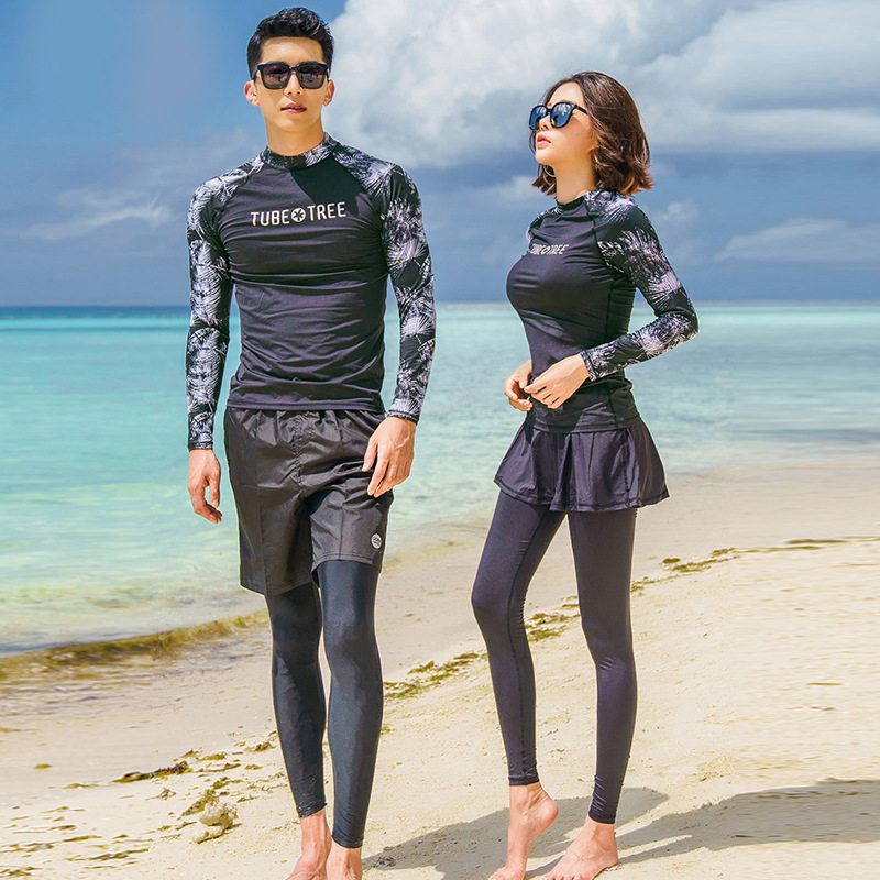 Guard Clothing Swimwear For Women Surf Wear Suits Bath Woman Kitesurf Summer Long Sleeve Three Piece Men Beach Pants Skirt SolidGuard Clothing Swimwear For Women Surf Wear Suits Bath Woman Kitesurf Summer Long Sleeve Three Piece Men Beach Pants Skirt Solid