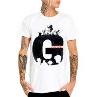 الغوريلا الشباب الأبيض قمصان القطن الخالص تي شيرت tt سباق racewear القرش dirt bike جيرسي كاواساكي t-shirt o