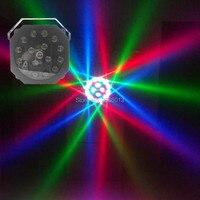Луч светодио дный 16 шт х 3 W Вихрь луча освещения сцены/RGBW DMX512 светодио дный пчелы глаз луч лазера/крючок Свадебные КТВ Главная Вечерние обору