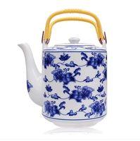 Jingdezhen China Ceramic Teapot high temperature resistant vintage tea pot Cold Water Kettle large capacity porcelain teapot