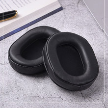 Replacement Sheep Leather Foam Ear Pads Cushions for Audio Technica ATH MSR7 ATH M50x for SONY MDR 7506 MDR V6 9.17