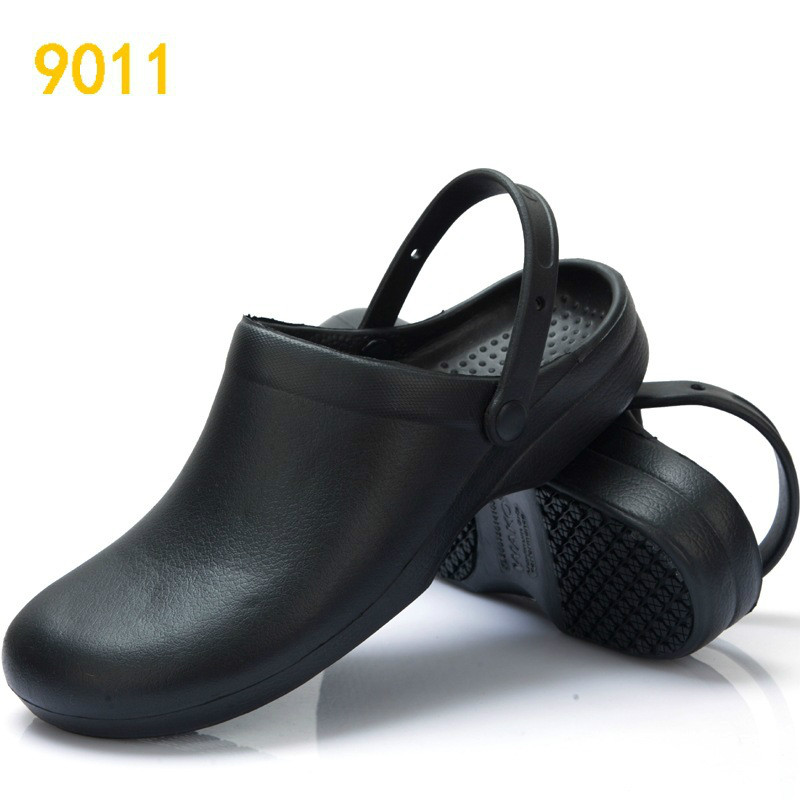 New Women Chef Shoes High Quality Antiskid Man Work Shoes Kitchen Shoes  Hotel Shoes Waterproof Oil Resistant Safety Flats 37 44 -in Women s Flats  from Shoes ... d89ae8506