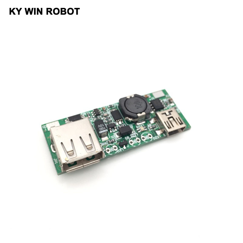 Mobile power supply chip 5V boost board belt recognition module Mobile phone charge MINI interface
