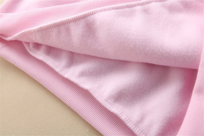 Hooded Tops Women's Sweatshirt Long-Sleeved Winter Velvet Thickening Coat 63