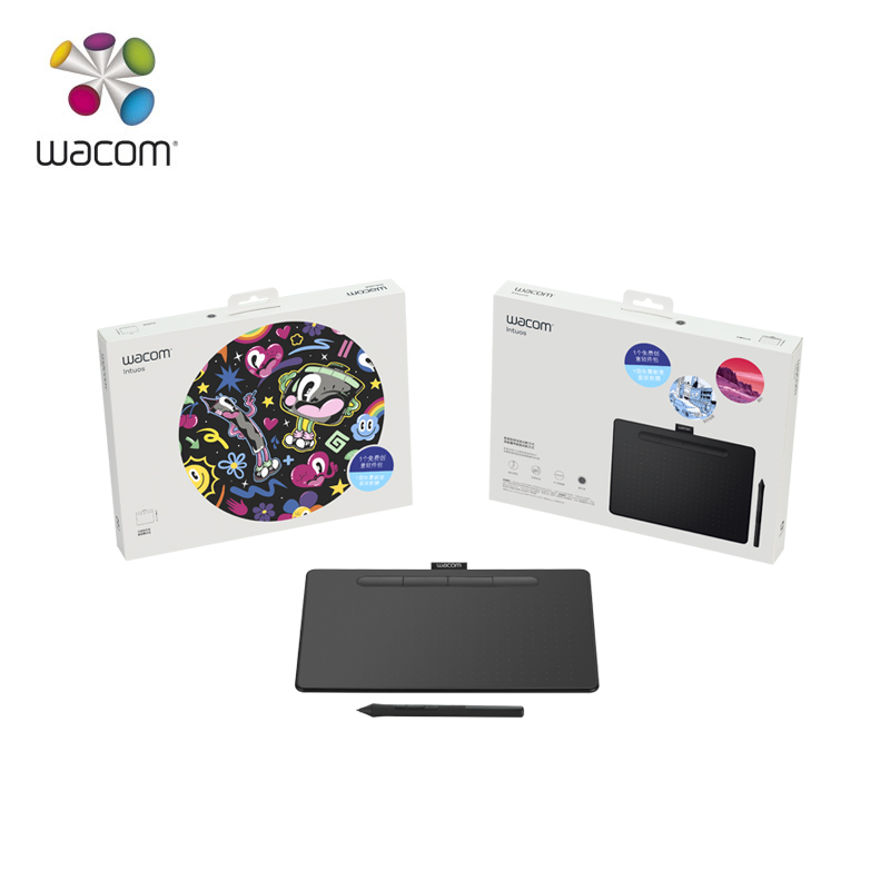 Wacom Intuos CTL 4100 Digital Graphic Drawing Tablet 4096