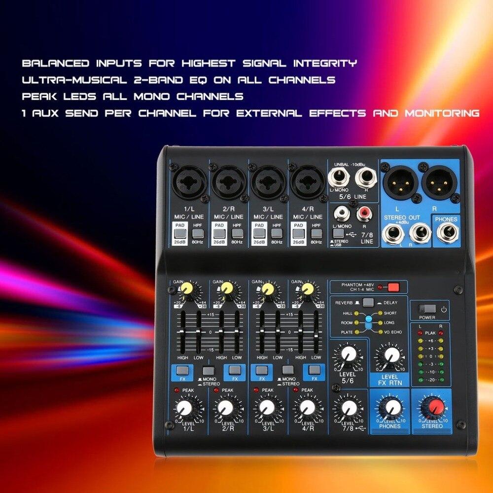 8 canali Professionali per DJ Powered Mixer di Alimentazione di Miscelazione Amplificatore USB Slot 16DSP + 48 V Alimentazione Phantom per Microfoni8 canali Professionali per DJ Powered Mixer di Alimentazione di Miscelazione Amplificatore USB Slot 16DSP + 48 V Alimentazione Phantom per Microfoni