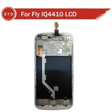 Para Fly iq4410 Pantalla LCD con Pantalla Táctil Digitalizador Asamblea Negro blanco Azul Envío Gratis