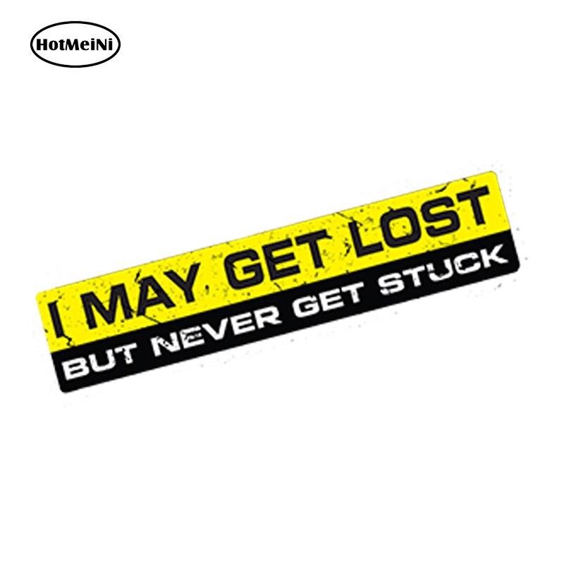 I MAY GET LOST
