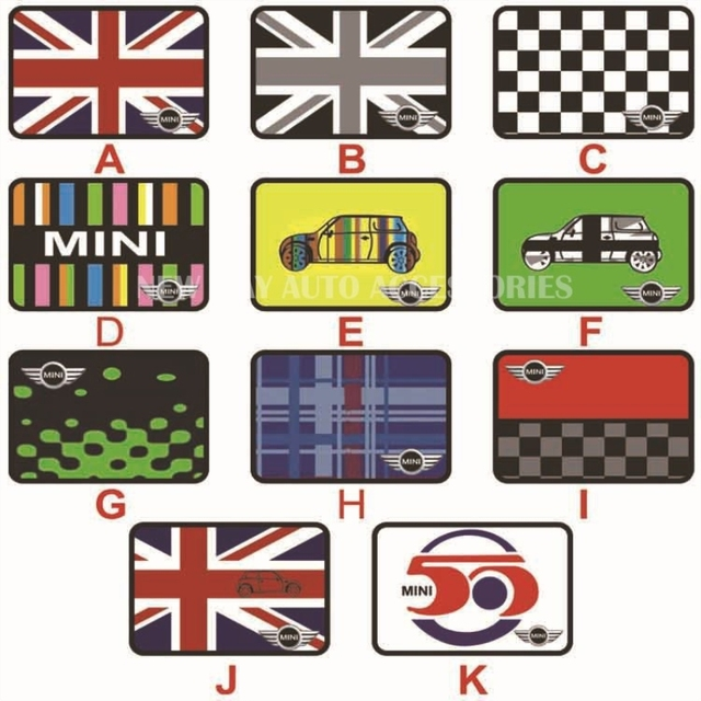 Union Jack Pad Anti-slip Mat for Car Phone GPS for MINI COOPER COUNTRYMAN F55 R56 F56 R60 Car Interior Accessories Car Styling