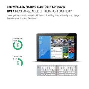 Image 5 - wireless folding Bluetooth keyboard Light and Handy Bluetooth 3.0 Folding Keyboard Foldable BT Wireless Keypad for phone laptop
