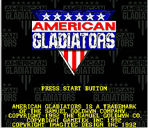 American Gladiatiors 16 bit MD Game Card For Sega Mega Drive For Genesis