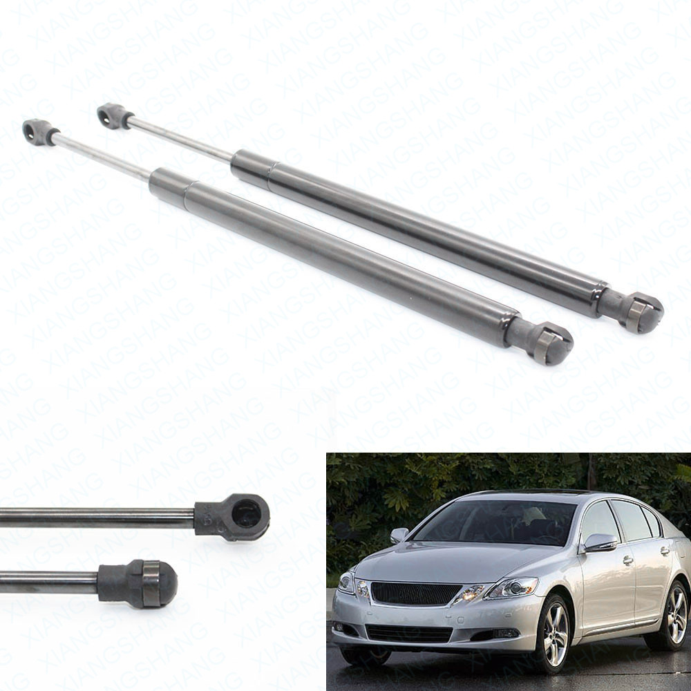 Fits for 2007-2009 2010 2011 Lexus GS450h Sedan 20.47 inche Trunk Boot Gas Spring Lift Supports Struts Prop Rod Arm Shocks DK