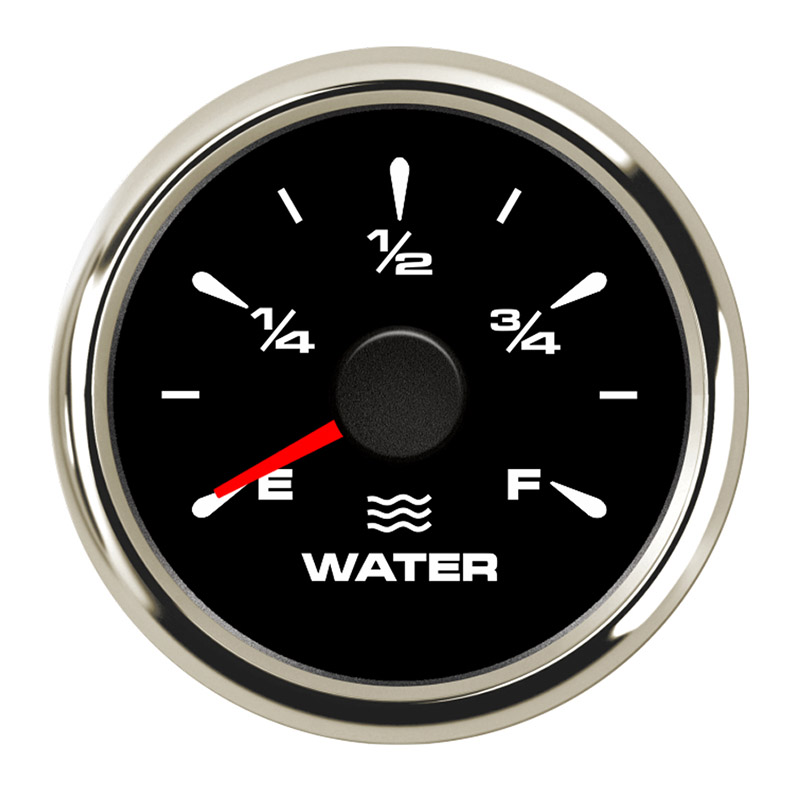 Yacht 52mm 100/% Waterproof Protection White Water Level Gauge for Boat