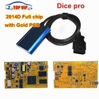 Gold Board! Vida Dice 2014D Full Chip Multi Language For Vo l vo Dice Pro+ Vida Dice Full Function Diagnostic Scanner Tool