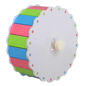 Small Pets Guinea Pig Hamster Wheel Silent roller Running Sports Round Wheel Hamster Cage Accessories Exercise Wheel for Pet Toy 5