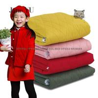 JaneYU Autumn And Winter Clothing Fabrics With Quilted Twill Jacket And Thicker Thermal Cotton Clothing And Cotton Fabric