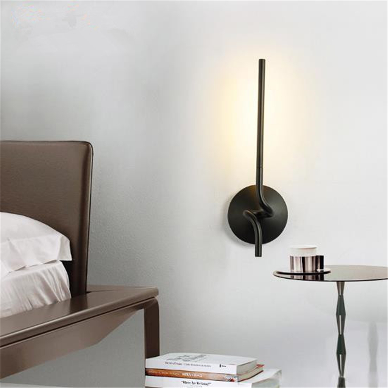 Postmodern Simple bedside Wall Lamp Nordic Creative Cafe Bar Livingroom Bedroom Aisle Background Decoration Lamp Free Shipping postmodern simple bedside wall lamp nordic creative cafe bar livingroom bedroom aisle background decoration lamp free shipping