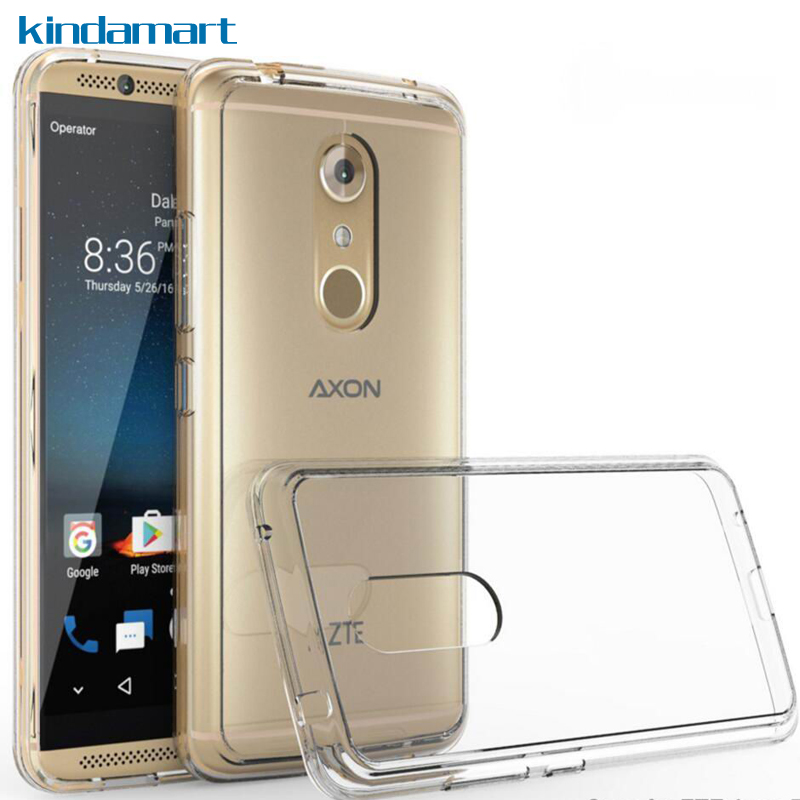 Hybrid Tough Clear Case For ZTE Axon 7 Case Cover For ZTE