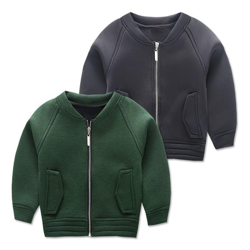 Baby boy spring jacket long sleeved jacket