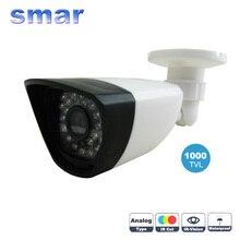 Smar Accueil Sécurité 1000tvl Surveillance Caméra 36 IR Infrarouge Led Avec 3.6mm Objectif Grand Intégré IR Cut Filtre