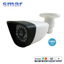 Smar 1000tvl Seguridad Para El Hogar Cámara de Vigilancia 36 IR Led Infrarrojos Con 3.6mm de Ancho Lente Incorporada En el Filtro de Corte IR