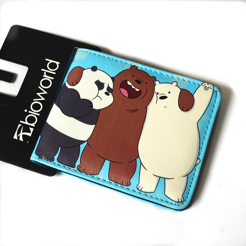 Japanese Cartoon Wallet Short Men & Women My Hero Academia We Bare Bears ONE PIECE.