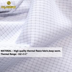 Image 2 - YKYWBIKE veste de cyclisme hommes hiver vêtements imperméables thermique polaire veste à manches longues haut de haute qualité avec 10 °c gamme
