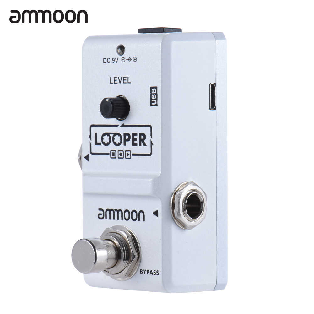 ammoon AP-09 Looper Guitar Pedal Nano Series Loop Electric Guitar Effect Pedal True Bypass Unlimited Overdubs Guitar Parts
