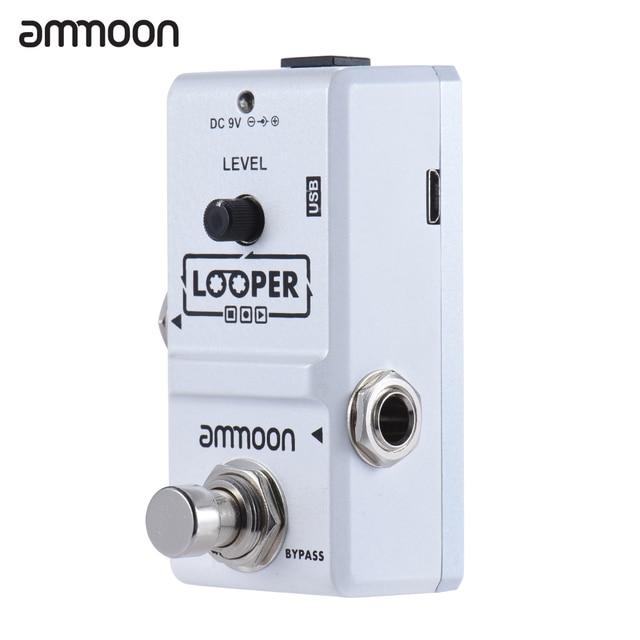 ammoon AP-09 Looper Guitar Pedal Nano Series Loop Electric Guitar Effect Pedal True Bypass Unlimited Overdubs Guitar Parts