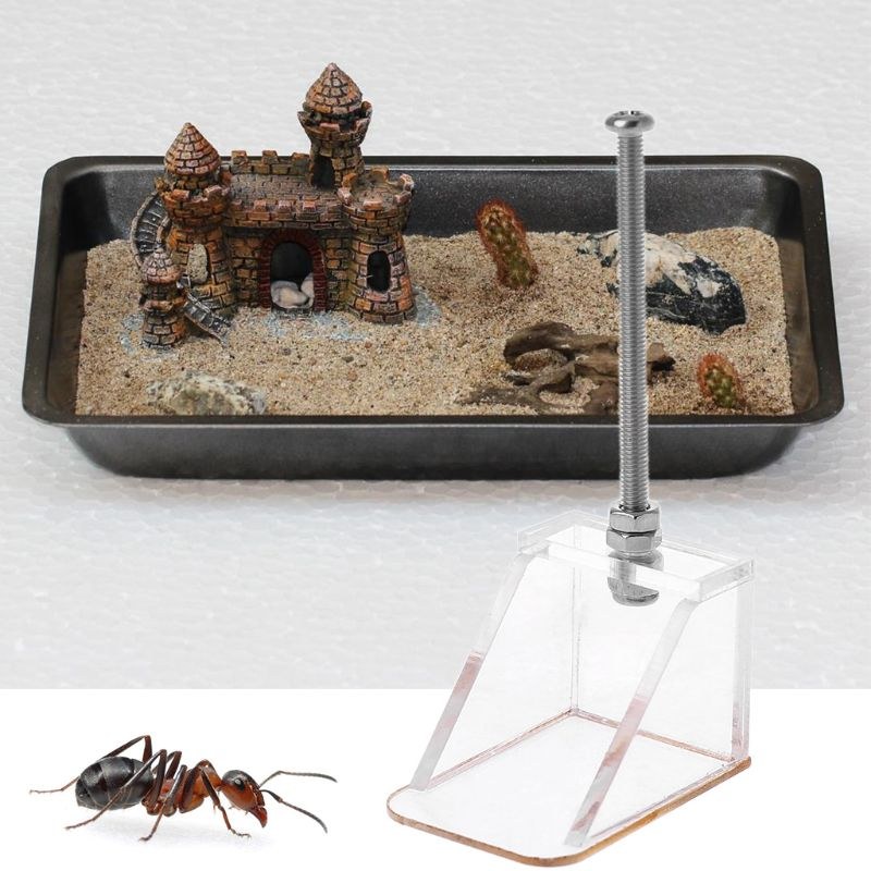 Ant Nest Cleaning Tool Arcylic Ant Farm Insect Ant House Dust Cleaning Device