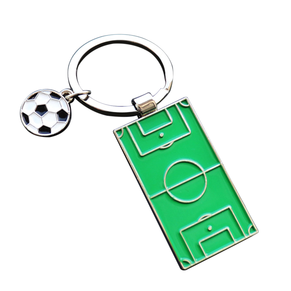 Sales 2018 world soccers Holder Keychain Ornament Key Ring Football fans gift Aluminum alloy new soccer free shipping 4 bell ornament aluminum alloy keychain silver